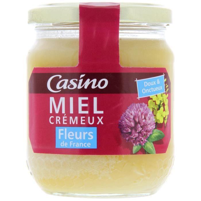 Miel Crémeux Fleurs de France 375 g