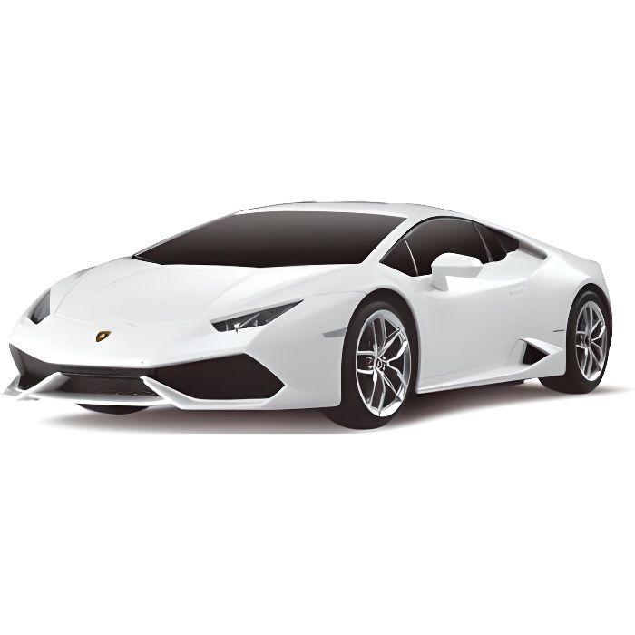 Superbe Voiture RC Lamborghini Huracan LP610-4 blanche 1:24