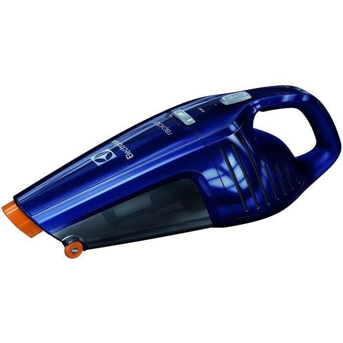 Electrolux ZB5106B Rapido Aspirateur à Main sans Sac Bleu Profond 41 x 12,4 x 13,7 cm
