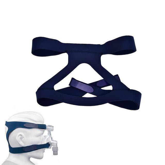 R7160 Couvre chef universel confort Gel masque complet pièce de rechange CPAP bandeau pour Respironic Resmed Resmart sans masque s