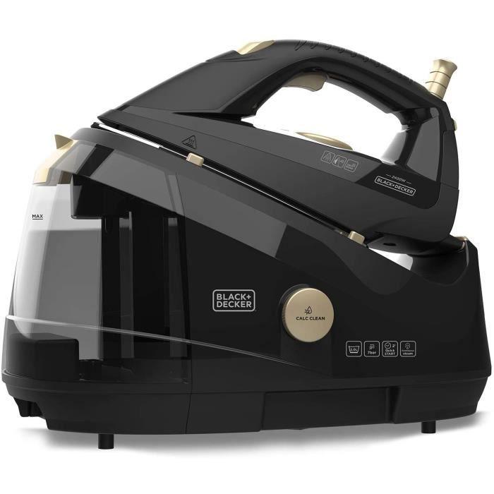 Black+Decker BXIR2403E Centrale à vapeur, Noir