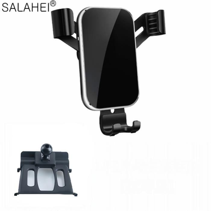 Supports voiture,Mobile Support Pour Téléphone Pour BMW X1 F48 - X2 F39 2018 2019 D'évent de Support GPS Clip SUPPORT - Type black