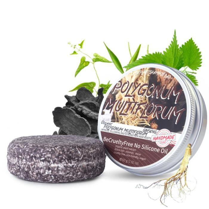 Solide Shampooing Bar, Fait avec Naturel et Des Ingrédients Biologiques, Sans cruauté et Végétalien, tous les Types Multiflorum