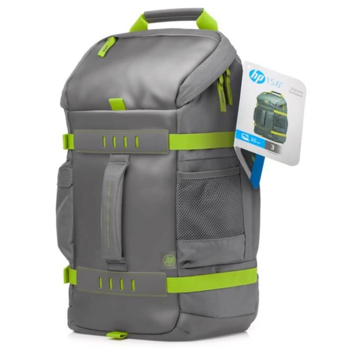 HP Sac à dos PC Portable Odyssey Sport Backpack L8J89AA - 15,6\