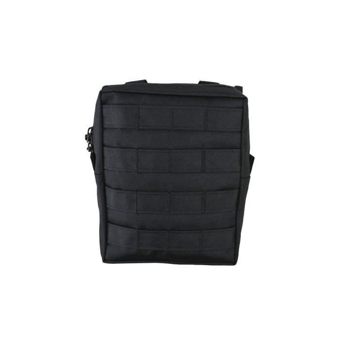 Pochette utilitaire MOLLE grande noir - Kombat Tactical