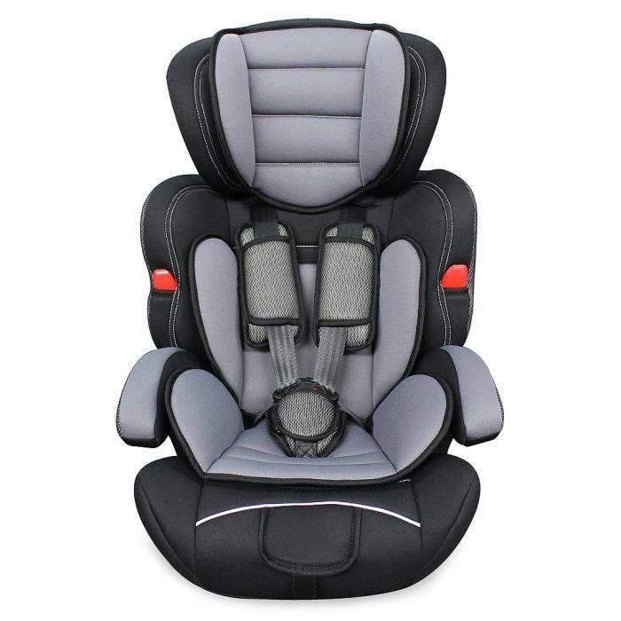 Siège Auto pour Bébé et Enfant, Siège Auto Rehausseur, Noir, De 9 à 36 kg, Standards-Certifications: ECE R44 - 04