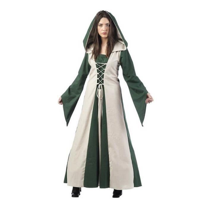 Déguisement de Magicienne Médiévale Martha pour femme