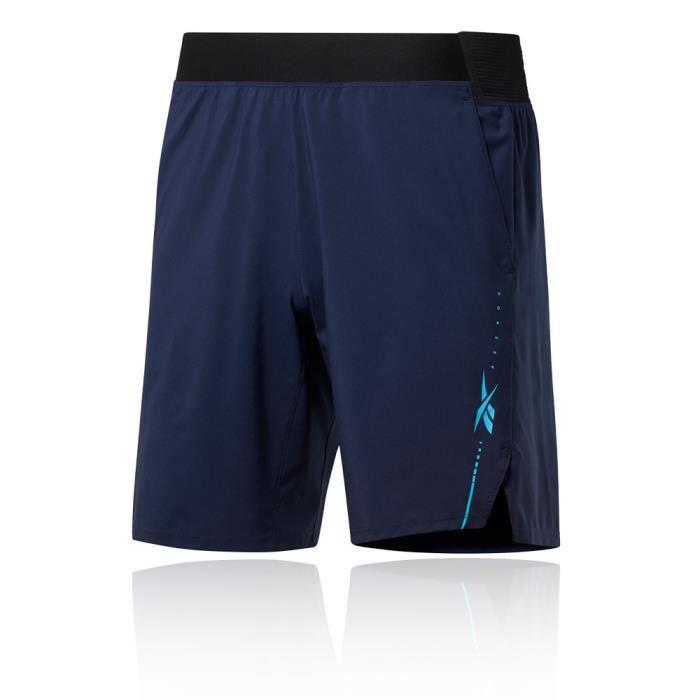 Reebok Hommes Epic Ltwt Short Bermuda Sport Pants Trousers Bas De Survêtement