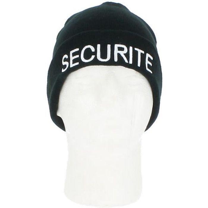 Bonnet SECURITE - NW Noir - #000000