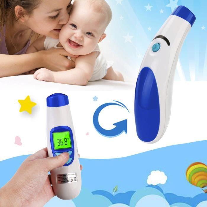 Front température du corps oreille infrarouge thermomètre numérique pour bébé Enfants Adulte Fièvre