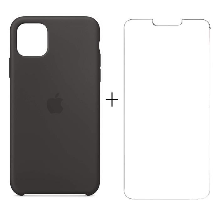 Coque 2x Vitre Iphone 11 Pro Max Apple Housse Etui