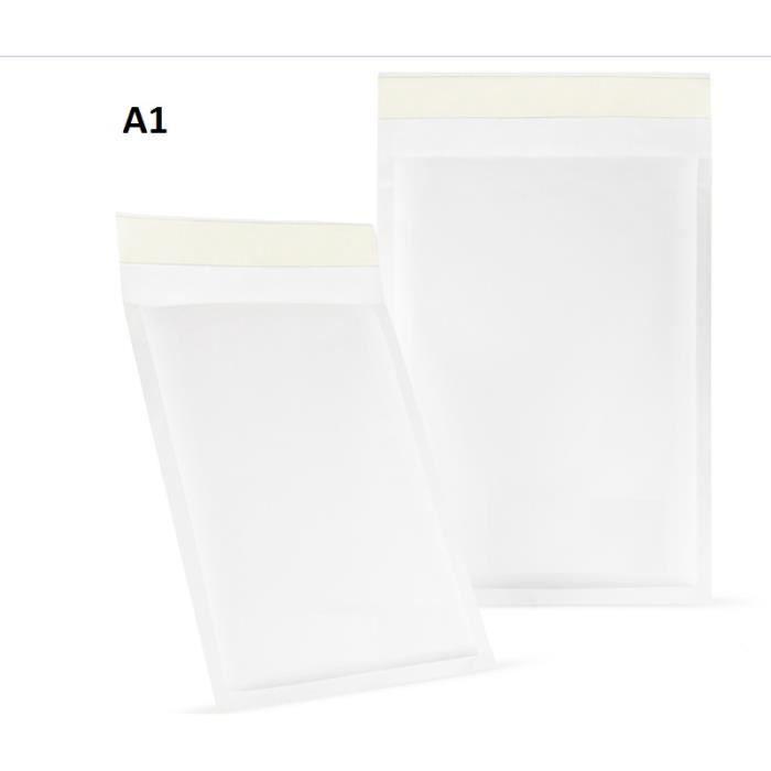 200 Enveloppes /à bulles Format A1// Pochettes d/'exp/édition// Enveloppes /à bulles d/'air// Blanc