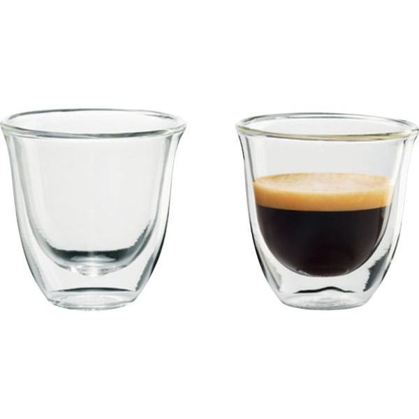 tasses caf delonghi lot 2 espresso 60ml achat vente. Black Bedroom Furniture Sets. Home Design Ideas