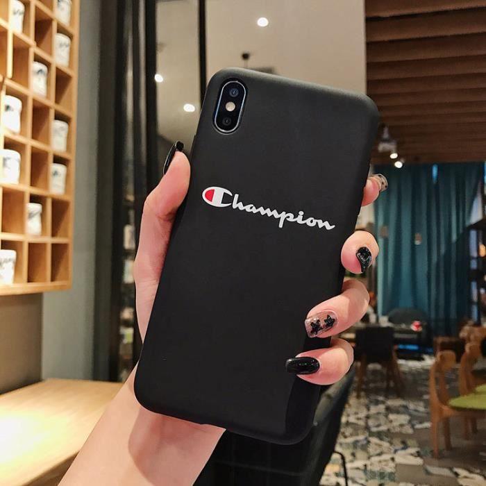 coque iphone 7 chanpion
