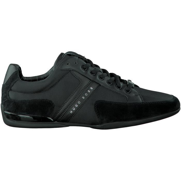 hugo boss chaussures lacets 50247632 noir noir achat vente basket cdiscount. Black Bedroom Furniture Sets. Home Design Ideas