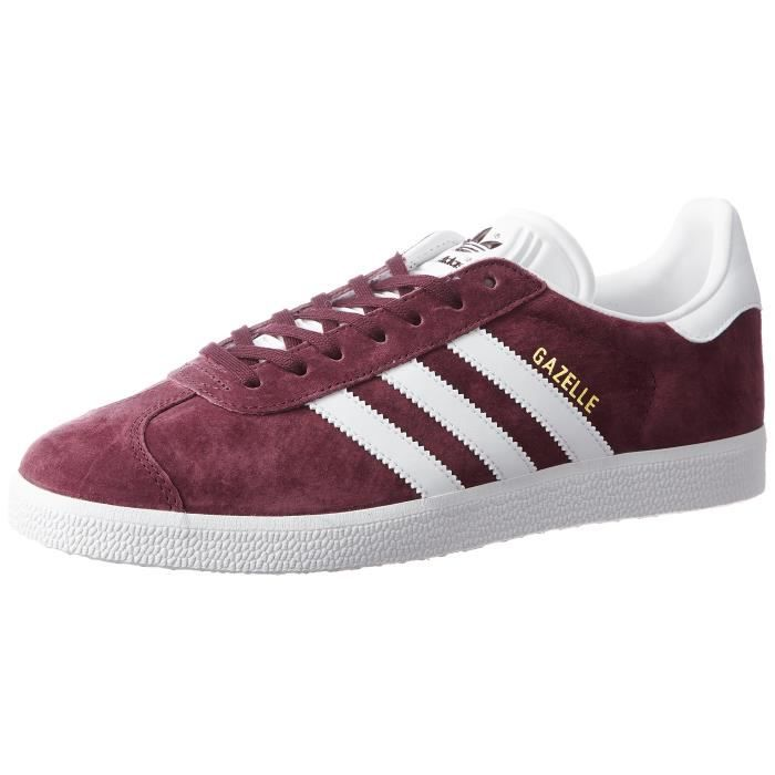 ADIDAS Gazelle Baskets homme 1BU956 Taille-42 Rouge - Cdiscount ...