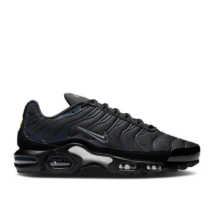 Basket NIKE AIR MAX TN Plus TXT Chaussures de Running Homme NOIR ...