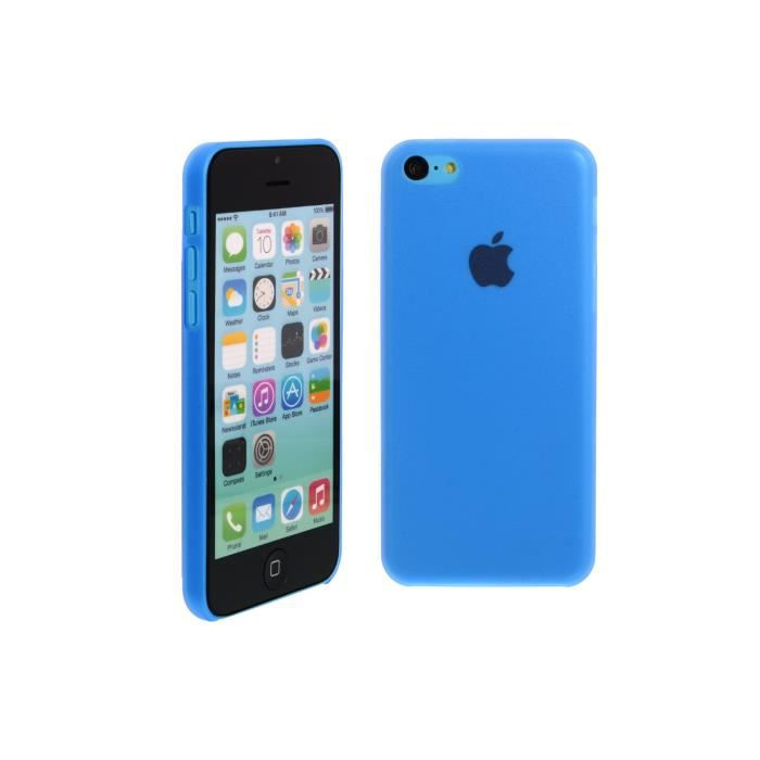 accueil iphone 5c coques silicones coque iphone 5c bleu. Black Bedroom Furniture Sets. Home Design Ideas