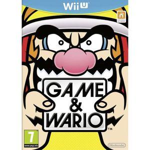 JEU WII U Game & Wario Jeu Wii U