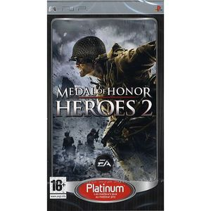 JEU PSP MEDAL OF HONOR HEROES 2 PLATINUM  / JEU CONSOLE PS