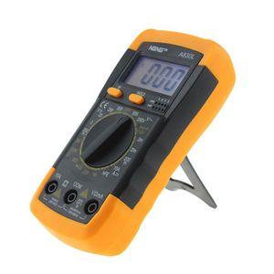 MULTIMÈTRE LCD Multimètre Numérique Ampèremètre Voltmètre Ohm