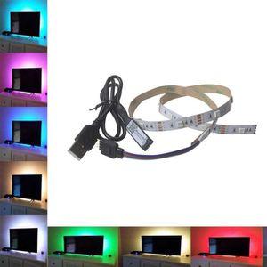 BANDE - RUBAN LED 5V 5050 9SMD 30CM RGB LED Barre lumineuse bande TV