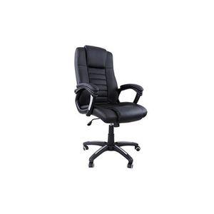 CHAISE DE BUREAU Fauteuil de bureau chaise siège noir ergonomique c