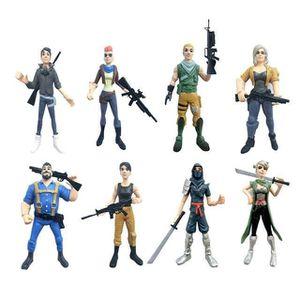 FIGURINE - PERSONNAGE Lot de 8 figurine Fortnite jouet Battle Royale for