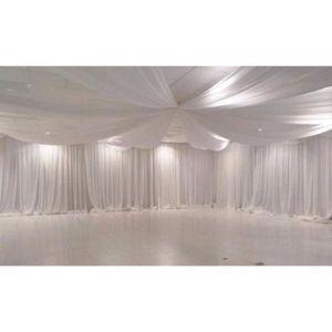 VOILAGE Megachest Rideau en Voile Blanc Pur de 210 cm de L