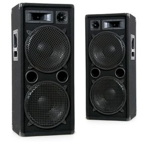ENCEINTES Pair baffles 2000 watts party PA disco 2 x 30cm ha