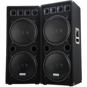 ENCEINTE ET RETOUR McGrey DJ-2522 Enceintes Party basement / DJ-Box P