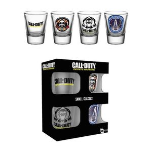 Verre à bière - Cidre 4 Verres à shot GB Eye - Call Of Duty