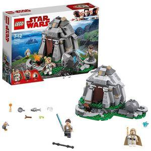 ASSEMBLAGE CONSTRUCTION LEGO Star Wars - Entraînement sur l'île d'Ahch-To