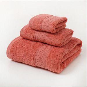 Magike Ensemble de Qualit/é Sup/érieure de Serviettes de bain 3 pi/èces 6 couleurs 1 serviettes de bain 2 serviettes