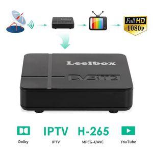 RÉCEPTEUR - DÉCODEUR   Leelbox® Décodeur TNT HD 1080P DVB-T2 H.265 512M S