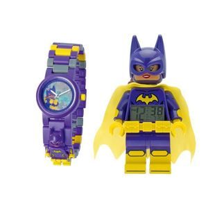 RÉVEIL ENFANT Duo montre et réveil Lego Batgirl