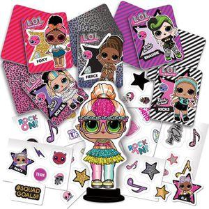JEU DE STICKERS L.O.L. Surprise - Crée tes Stickers et tes cartes