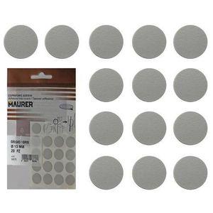 VIS - CACHE-VIS Cache-vis adhésifs gris (blister 20 unité