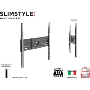 FIXATION - SUPPORT TV MELICONI 480952 Support mural TV fixe Slim SP 400