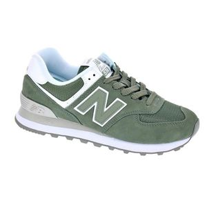 best sneakers 55de1 a5e57 BASKET Baskets basses - New Balance 574 Femme Vert ...