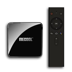 BOX MULTIMEDIA TV Box MECOOL KM3 Lecteur Voice Control Google Cer