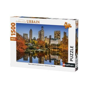 PUZZLE Puzzle New York en Automne 1500 pcs