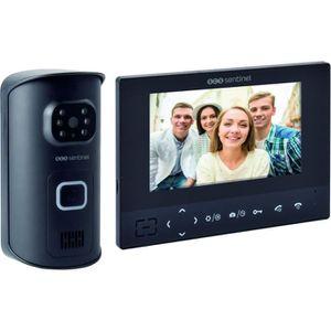 Mobile Visiophone Sans Fil Interphone Sonnette Video ou Photo LCD Port/ée 25 m