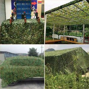 ACCESSOIRES CAMOUFLAGE Filet de Camouflage militaire Woodlands Feuille 4X