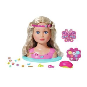MAQUILLAGE Zapf BABY born Sister Styling Head, Multicolore, 3