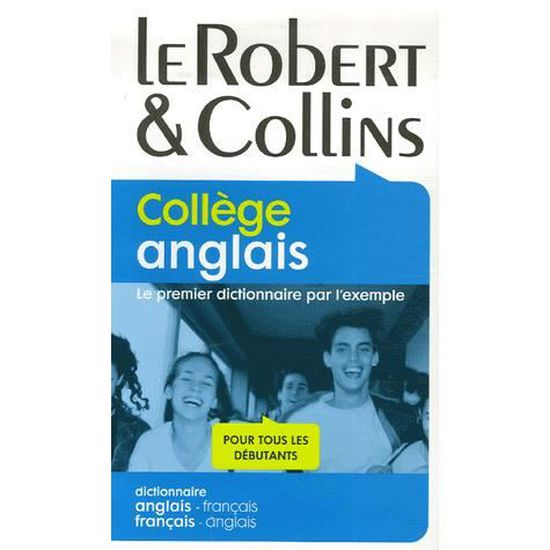 Robert Collins College Anglais Dictionnaire An