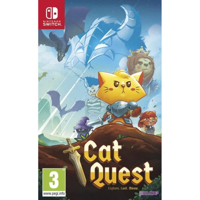 JEU NINTENDO SWITCH Cat Quest Jeu Switch
