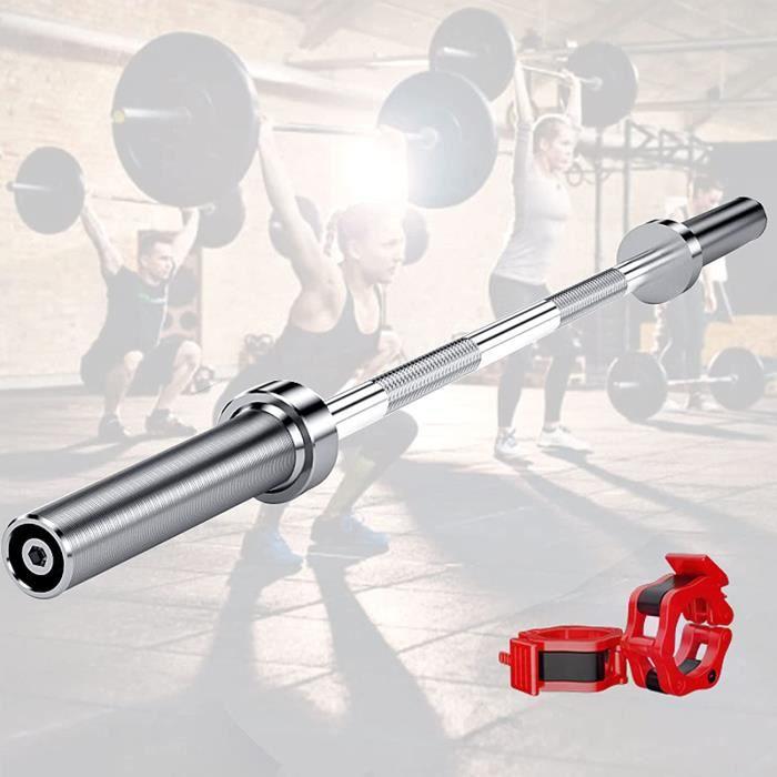 LXX Barre Olympique Musculation, 4ft-5ft Barre D'haltère, Barre de Poids Haltère Olympique Barre EZ Musculation, Entraînement à 327