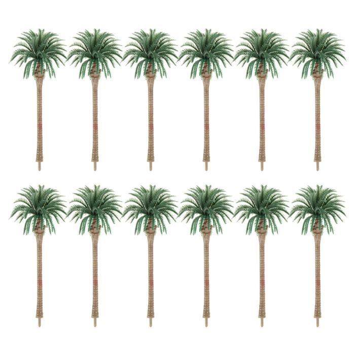 12 pcs jolie mode de sable en arbre faux paysage décoration de plante bille barre chocolat confiserie chocolat
