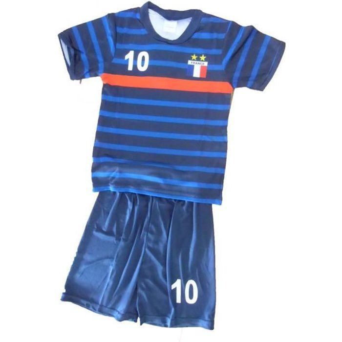 mailot de foot FRANCE 14 ans short